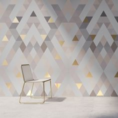 25 Fantastic Contemporary Wallpaper Ideas - Mesmerizing Contemporary Home Decor Ideas. for bedroom 25 Fantastic Contemporary Wallpaper Ideas Art Deco Bedroom, Bedroom Wall Designs, Home Decor Bedroom, Living Room Decor, Wall Paper Bedroom, Contemporary Wallpaper, Contemporary Home Decor, Wallpaper Decor, Wallpaper Ideas