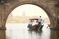 Zhujiajiao Water Town   Shanghai, China In China, Monuments, Grand Canal, Shanghai, Cities, Bridge, Asia, Chinese, Ballet