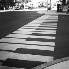 Piano crosswalk. AH! Why can't we have something like this in my town!  What would be even more awesome that it played notes everytime you stepped on a key!  Though, I can see how that could become a problem REAL fast. XD