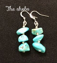 <br>Dont miss out,add them to your collection today! Turquoise Earrings, Beautiful Earrings, Drop Earrings, Pretty, Blue, Collection, Jewelry, Fashion, Moda