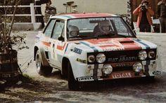 ra Jean-Claude Andruet - Michele Petit-Fiat 131 Abarth Gr.4-Tour de Corse 1978