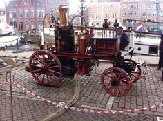 Brandweer Dordrecht in Stoom
