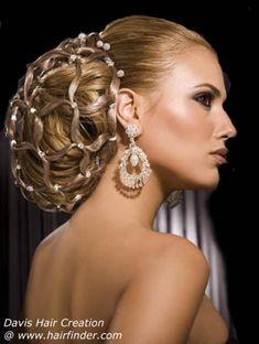 Penteados para casamento  de luxo