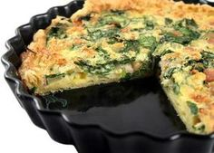 If you're careful about your ingredients, a breakfast quiche can be quite healthy.