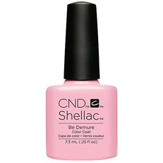 CND Shellac Be Demure -- Find out more about the great product at the image link.Note:It is affiliate link to Amazon.