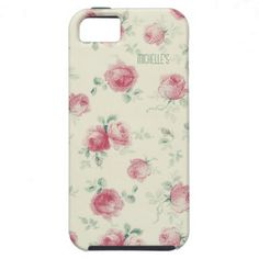 Vintage Red Roses iPhone 5 Case