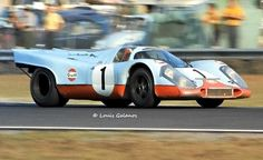 https://flic.kr/p/dwFSsc | Jo Siffert's Gulf Porsche 917 at Daytona 1971 - It was a sad year for Porsche and all racing fans. | I didn't realize it then but 1971 would be a sad year in motorsports.  Not only was it the last year for the Porsche 917 and Ferrari 512 but Jo Siffert would die 9 months after I took this photo during a race at Brands Hatch.  Three months earlier Siffert's Gulf team mate Pedro Rodriguez was killed driving a Ferrari 512M in a race in Germany.  Ironic since many…