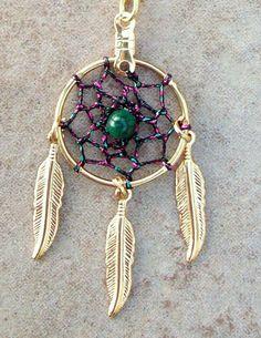 Collar atrapasueños espíritu collar color de por SerenityJewelry