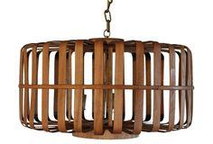 Bamboo Pendant Lamp, Natural