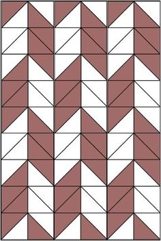Zig Zag Quilt Pattern | You can see the zig zag pattern in the shape of the pieces, but by ...