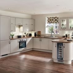 Discover how a U-shaped kitchen design can help you make the most of every inch of space, however large or small your kitchen.