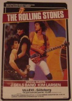 Keith Richards Guitars, Los Rolling Stones, Charlie Watts, Mick Jagger, Concert Posters, Rock Bands, Blues, Rock Posters, Gig Poster