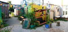 "A small ""garden"" at godsbanen"