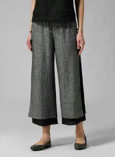 A good way to lengthen pants....