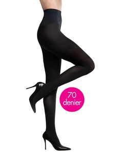 Commando Tights Featuring a No-Dig Waistband / 24 Genius Clothing Items Every Girl Needs (via BuzzFeed)