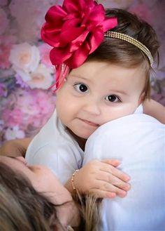 Faixa bebe luxo pink