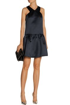 TibiSatin mini dressoutfit