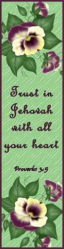 Trust in Jehovah Bookmark