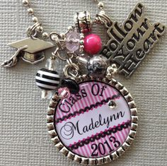 Class of 2013 Graduation Gift PERSONALIZED Name Year by buttonit, $19.50