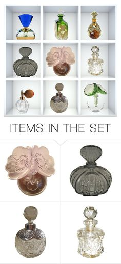 """""""Perfume Bottle Collection"""" by chauert ❤ liked on Polyvore featuring art"""