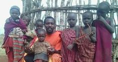 Alamnyak Thaddeus ole Orpiay with the local Maasai-Mara children ©Alamnyak Thaddeus ole Orpiay