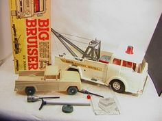 MARX Big Bruiser Tow Truck in Box