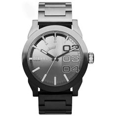 3fd0b4d549bc Diesel Mens two tone stainless steel watch DZ-DZ1679 Double Down