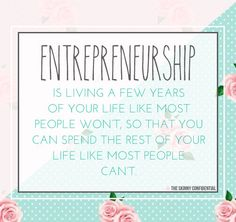 ::all the deets of being an entrepreneur on the blog::