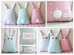 bunny softies - not a tutorial