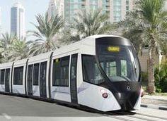 Inaugurado el ferrocarril ligero de #Dubai #alstom #railway