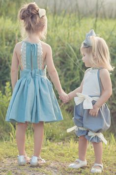 Haven girls dress sewing pattern from Violette Field Threads – Summer Sewing Outfits Niños, Kids Outfits, Baby Girl Fashion, Kids Fashion, Cute Dresses, Girls Dresses, Summer Dresses, Romper Pattern, Kids Frocks