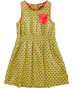 Name It gorgeous spencer dress with yellow and pink #emilea