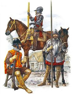 The Armada Campaign, 1588: • Petronel, Earl of Essex's troops  • English demilancer  • English light horseman
