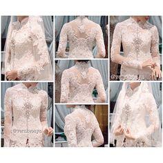 Kebaya Lace, Kebaya Brokat, Kebaya Dress, Batik Kebaya, Kebaya Wedding, Wedding Dresses, Kebaya Moden, Model Kebaya Modern, Indonesian Kebaya