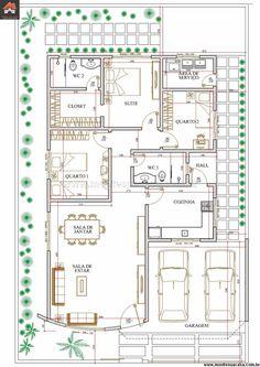 Casa 2 Quartos - 127.87m²