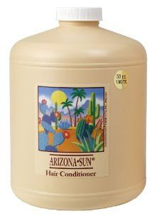 Arizona Sun Hair Conditioner - 50 oz - All Types of Hair - Aloe Vera and Other Natural Products - Deep Moisturizing For Soft Manageable Hair - Nourishes Dry Hair by Arizona Sun. $39.95. Leaves hair cleaner, softer, and more manageable. Made with natural plants and cacti from the southwestern desert. pH-balanced formula. Desert floral vacation fragrance. Conditioner - Giant 50 oz size. Our pH balanced formula is specially blended with Arizona's own native cacti, plants, na...