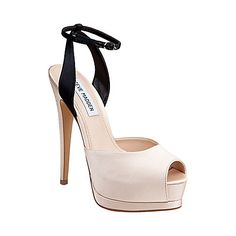 OBSTICLE CHAMPAGNE MULTI women's dress high ankle strap - Steve Madden