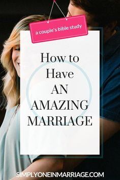 Do you want an amazing marriage? There is one main thing you need. And the Creator of marriage Himself tells us what it is in His Word.