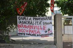 Bouganville occupata: vogliamo un dialogo!