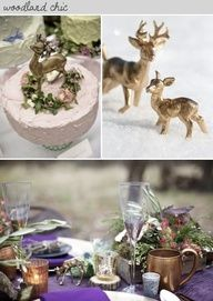 BUY or DIY? Gold Animals ~ how to turn plastic toy animals into cake toppers, table decor, place settings or favors!