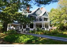 A 'Bar Harbor Cottage Style' residence, the Smith House, the design of Cook, Hapgood & Co. Architects, was built in 1892. It has exquisite architectural detail & has been updated carefully for the 21st century. An elegant, convenient in-town location w/ a beautifully landscaped yard of just under 1 acre -- the house has 6 bedrooms, 8 working fireplaces, magnificient millwork, curved walls, lovely built-ins & stylish period lighting. It is heated by natural gas w/ an on-demand hot water…