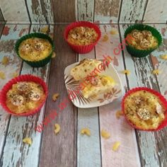 Resep Chicken Macaroni Muffin With Cheese