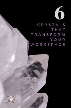 These are six crystals that are perfect for the office. Learn all about these 6 crystals that will transform your workspace. Included are crystals for creativity, crystals for protection, crystals to help you maintain focus and clear your mind, crystals for stress, crystals for anger, crystals for tension, crystals for protecting your personal space, a crystal for good luck, and fortune. Whatever your issue is in your workspace there is a crystal out there for your workplace. Check out my… Chakra Crystals, Crystals And Gemstones, Stones And Crystals, Crystals For Manifestation, Meditation Crystals, Crystals For Sleep, Crystal For Anxiety, Crystal Guide, Clear Your Mind