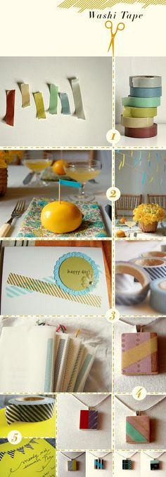 Heart Handmade UK: Spring Coloured Washi Tape