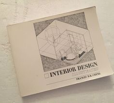 Interior Design Illustrated by Francis D.K. Ching A VNR Book ~B87 #Textbook