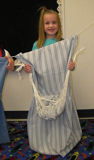 Clothes line storytelling.  Great way to have the kids act out the bible story.