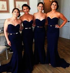 Custom Made Bridesmaid Dresses,Bridesmaid Dresses with Sashes,Fishtail dress, Off the shoulder dress