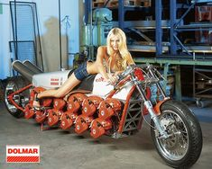real pic, those are chainsaw engines!