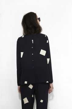 northmagneticpole: A Blouse in Squares-KOKOON at Mr. Larkin