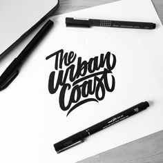 The Urban Coast! #customtype #customlettering #customtypography #goodtype #thedailytype #type #typism #typegang #typespot #typography #typematters #brushtype #handtype #handdrawn #handmadefont #letters #lettering #letteringdesign #pen #ink #illustration #illustrated #font #design #script #sketch #drawing #thefinelab #todaystype